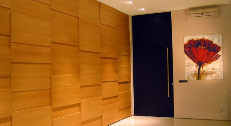 Стеновые панели ДСП позволяют получить эксклюзивный вариант отделки помещений