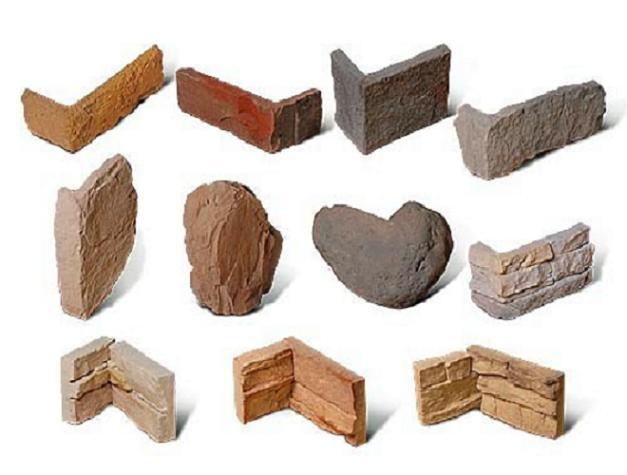 Элементы углов из искусственного камня