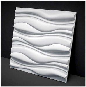 Структура плиты с объемным рисунком