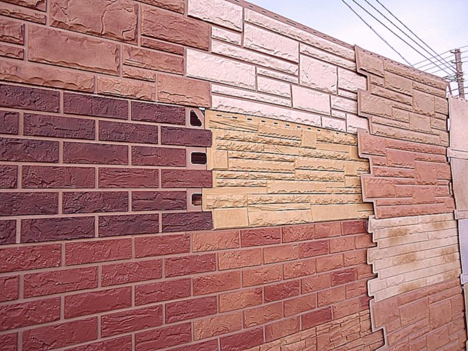Вариант стеновых панелей из стеклопластика
