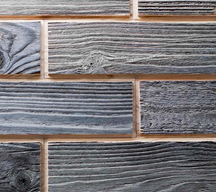 Вариант стеновых панелей из МДФ
