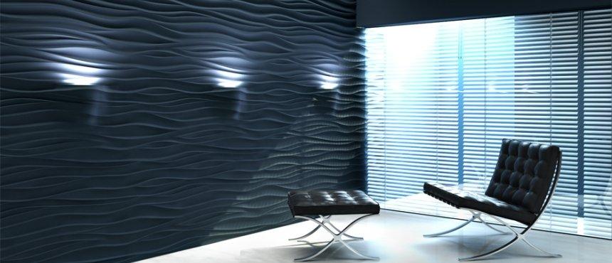 3D обшивка с подсветкой LED элементами