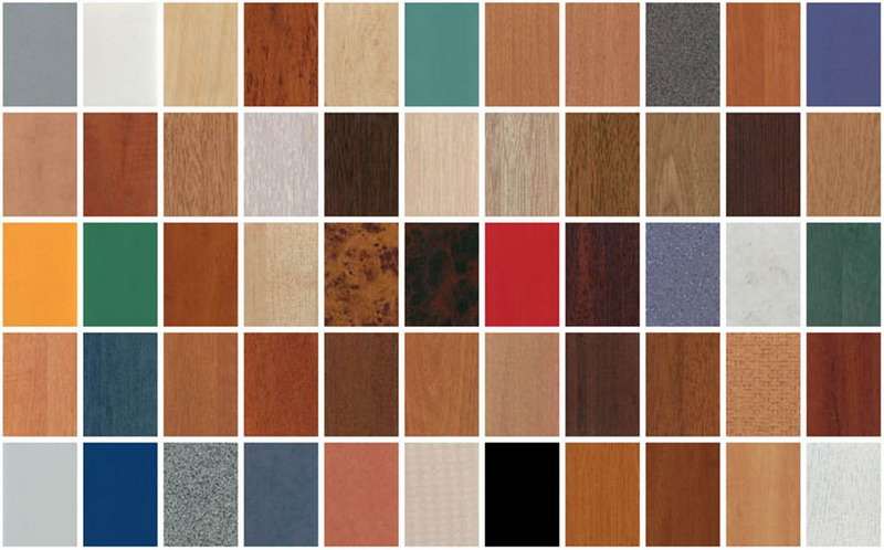 Ламинированные древесностружечные панели имитируют своей внешностью любую породу дерева