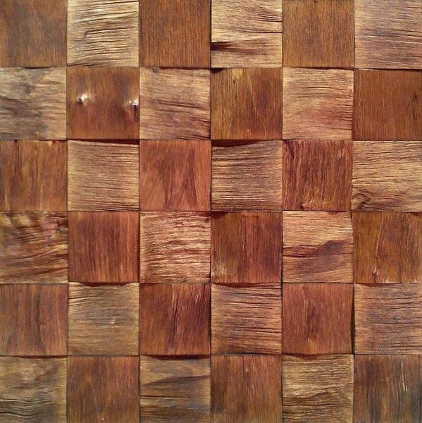 Стеновые панели из массива березы