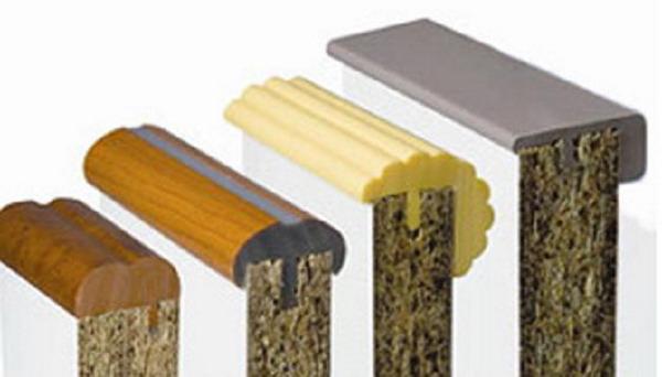 Профессиональные кромки устанавливаются в столярных мастерских, для монтажа необходимо изготовить паз с помощью фрезера