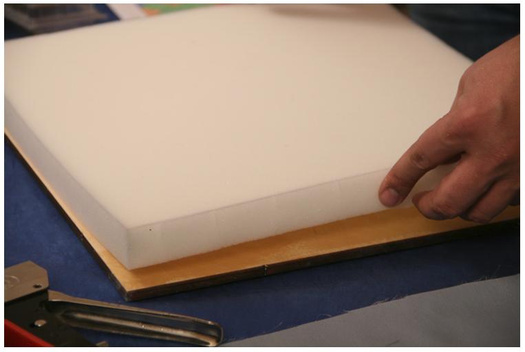 Послойная структура текстильной плиты