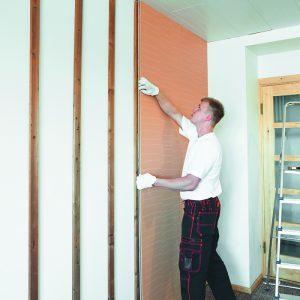 Декоративная панель Изотекс для шумоизоляции на стене
