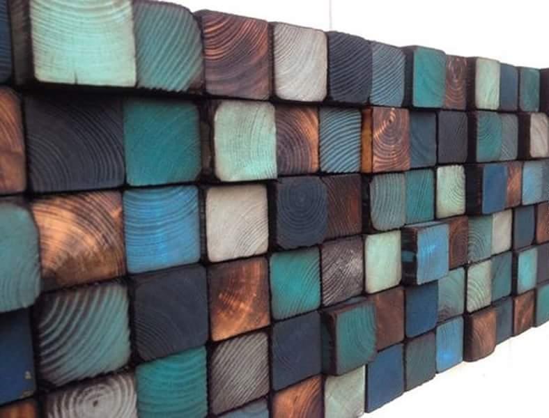Разноцветное панно на стену