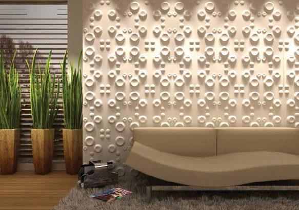 Стеновые панели в интерьере