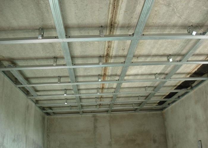 Каркас для монтажа на потолок