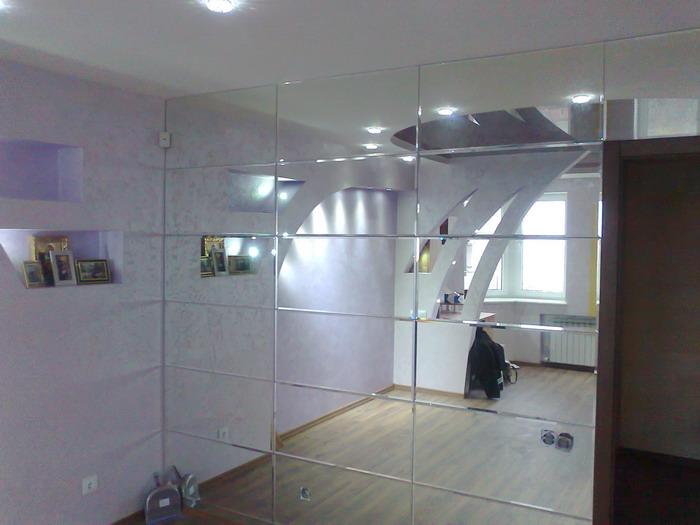 Зеркальные панели