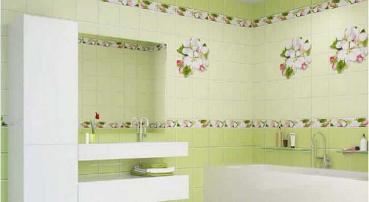 Стеновые панели ПВХ в интерьере современной ванной комнаты