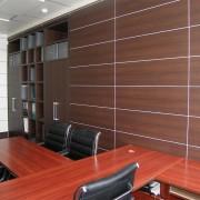 Обшитый кабинет