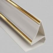 Вариант потолочного плинтуса для панелей ПВХ